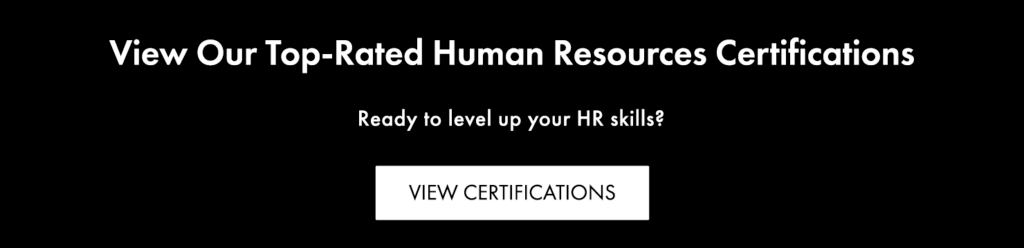 Human Resources Certifications